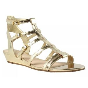 Kate space Gold Valetta sandal size 8